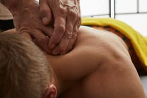 Massagetherapeutic treatment Gothenburg